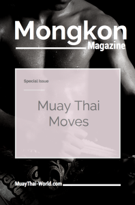 Mongkon Magazine Muay Thai Moves Cover