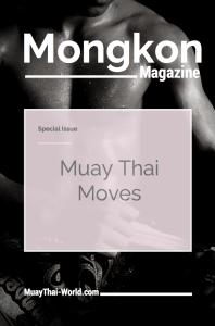 Mongkon Magazine Muay Thai Moves Cover