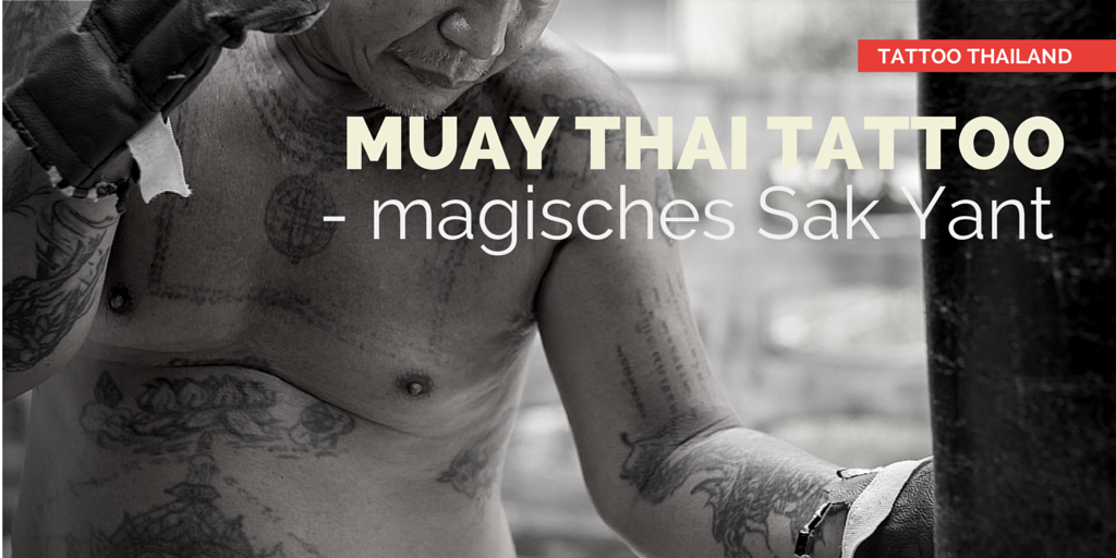Sak Yant Muay Thai Shorts Muay Thai Tattoo Sak Yant
