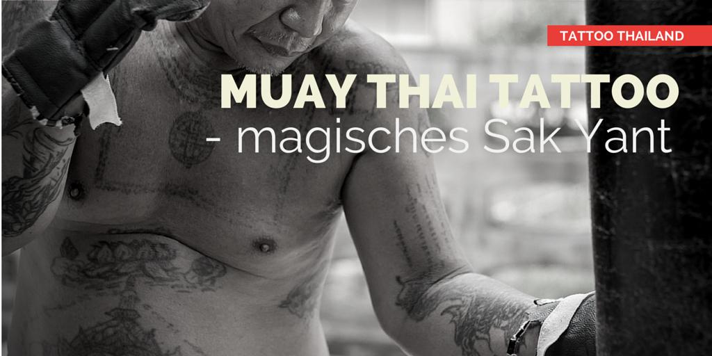 Sak Yant Muay Thai Shorts Muay Thai Tattoo Sak Yant