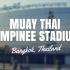 Muay Thai Stadium: Lumpinee Stadium, Bangkok