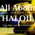 Muay Thai: All about Thai Oil and Tiger balm