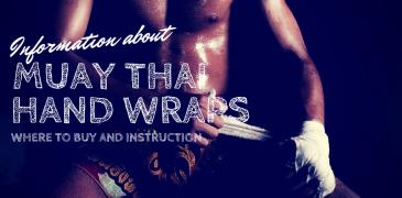 Muay Thai Hand Wraps Instruction