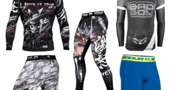 Compression Gear for Martial Arts